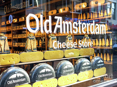 Photograph - Old Amsterdam Cheese Store by John Rizzuto