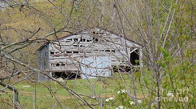 Photograph - Old And Abandoned Barn by Charlotte Gray
