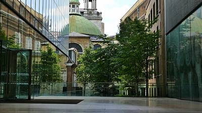 Photograph - Old And New Buildings In London by Jeremy Hayden