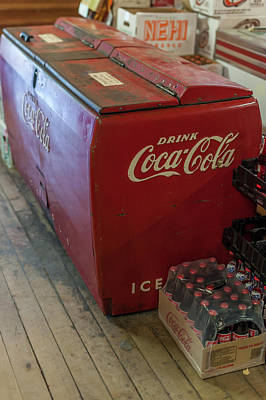 Photograph - Old And New Coca Cola  by Terry DeLuco