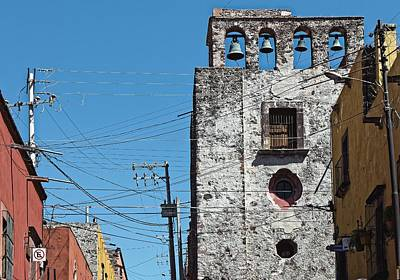 Photograph - Old And New Communication, San Miguel 2014 by Chris Honeyman