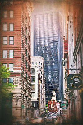 Photograph - Old And New In Boston  by Carol Japp