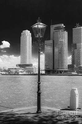 Photograph - Old And New In Rotterdam by Casper Cammeraat