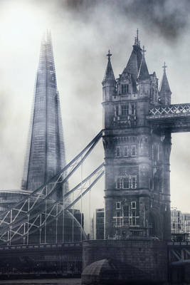 old and new London Print by Joana Kruse
