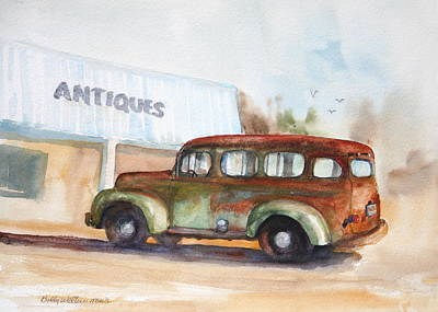 Old And Rusty Art Print by Bobby Walters