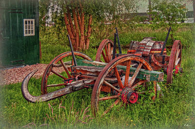 Photograph - Old And Rusty by Hanny Heim