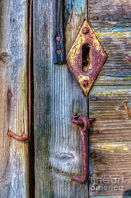 Traditional Doors Photograph - Old And Rusty by Veikko Suikkanen