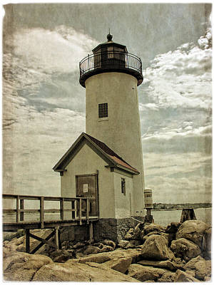 Photograph - Old Annisquam Light by Mike Martin
