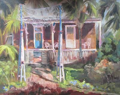 Susan Richardson Painting - Old Apalach by Susan Richardson