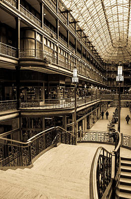 Photograph - Old Arcade by Stewart Helberg