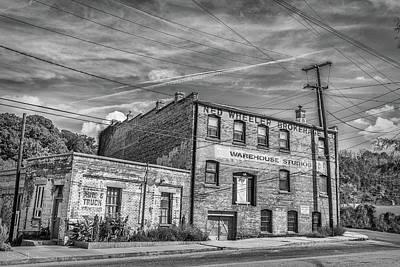Old Asheville Building Art Print