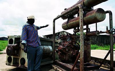 Photograph - Old Ayetoro Machine by Muyiwa OSIFUYE