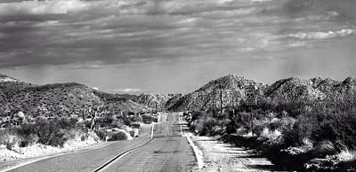 Pioneertown Photograph - Old Back Road by Carolina Liechtenstein