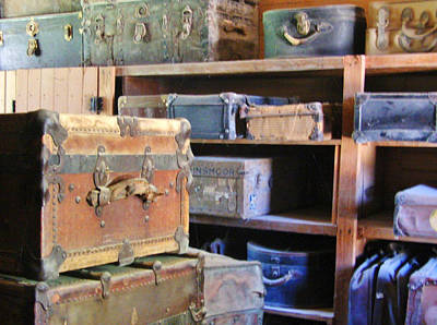 Photograph - Old Baggage by Marilyn Diaz