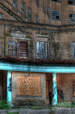Haunted Photograph - Old Baker Hotel Hdr 1 by Hilton Barlow