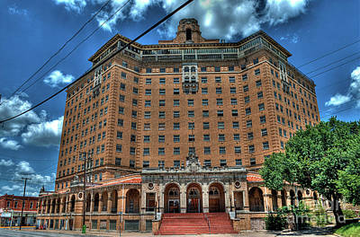 Haunted Photograph - Old Baker Hotel Hdr 3 by Hilton Barlow