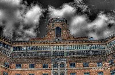 Haunted Photograph - Old Baker Hotel Hdr 4 by Hilton Barlow