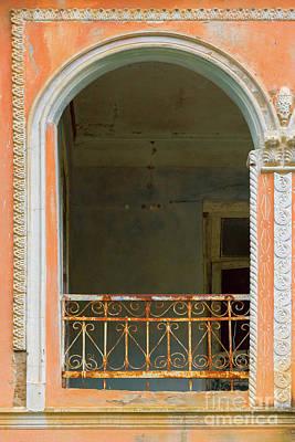 Old Balcony Art Print by Svetlana Sewell