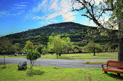 Photograph - Old Baldy Mountain, Garner State Park by Michael Ziegler