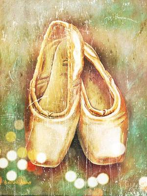 Old Ballet Shoes Reflections Original