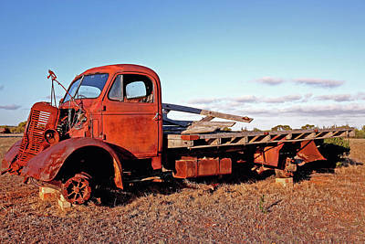 Photograph - Old Banger by Tony Brown