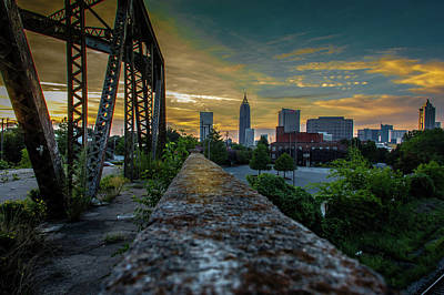 Photograph - Old Bankhead Bridge by Kenny Thomas