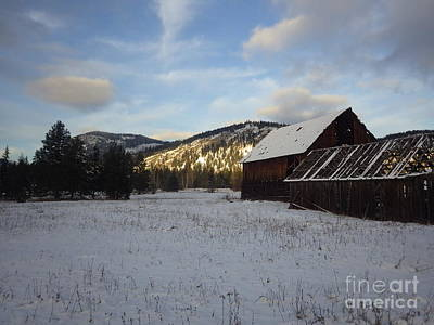 Art Print featuring the photograph Old Barn 2 by Victor K