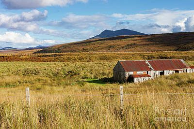 Photograph - Old Barn, Achnasheen by Diane Macdonald