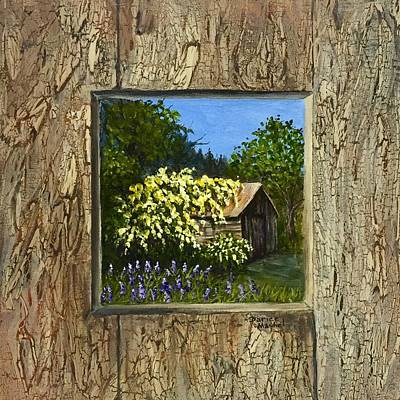 Painting - Old Barn by Darice Machel McGuire