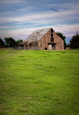 Photograph - Old Barn by David and Carol Kelly