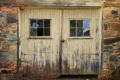Photograph - Old Barn Doors by Lori Deiter