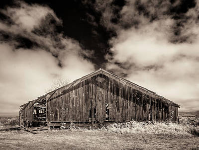 Photograph - Old Barn by Greg Nyquist