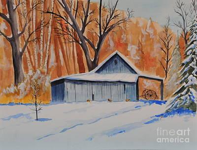 Painting - Old Barn I by John W Walker