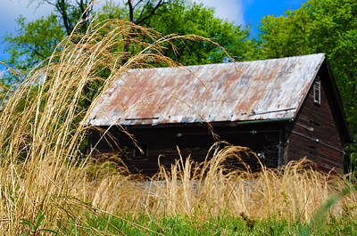 Old Barn In Roxborough Print by Bill Cannon