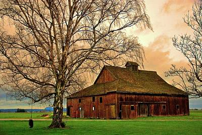 Photograph - Old Barn In Skagit Valley by Craig Perry-Ollila