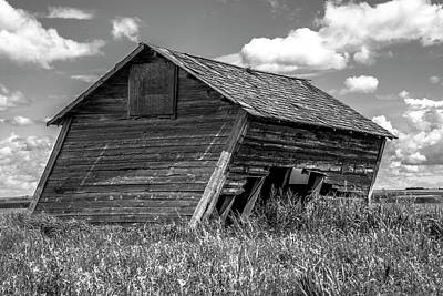 Photograph - Old Barn In The Prairie  by Patrick Boening