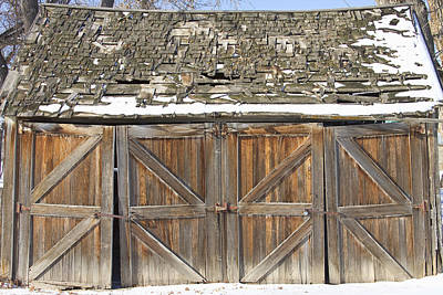 Photograph - Old Barn by James BO Insogna