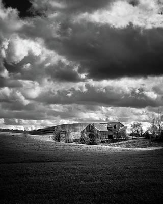 Photograph - Old Barn by Joshua Hakin