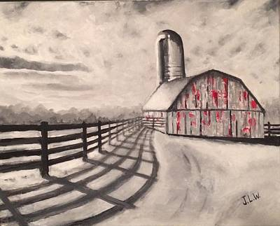 Painting - Old Barn by Justin Lee Williams