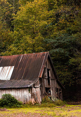 Photograph - Old Barn by Shelby Young