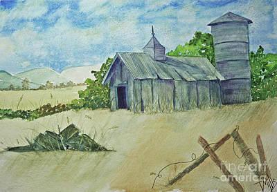 Painting - Old Barn by Terri Mills