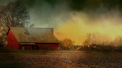 Old Barn With Charm Art Print