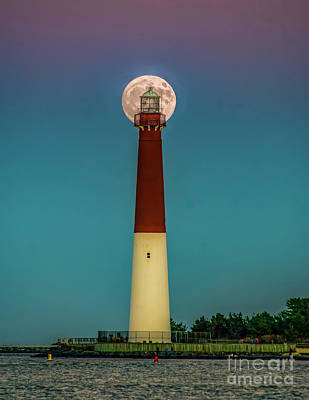 Photograph - Old Barney And The Moon by Nick Zelinsky