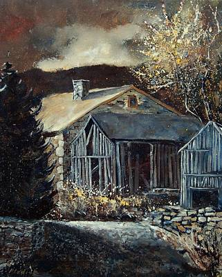 Angels And Cherubs - Old Barns by Pol Ledent