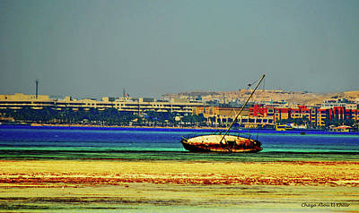 Photograph - Old Barque by Chaza Abou El Khair