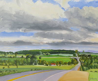 Painting - Old Barrie Road by Jo Appleby
