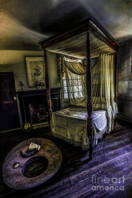 Photograph - Old Bed by Ken Frischkorn