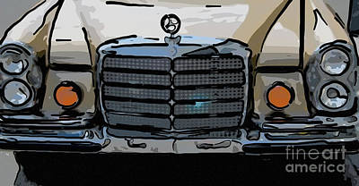 Photograph - Old Benz by Dale Powell