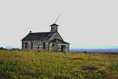 Photograph - Old Bickleton Schoolhouse by Craig Strand