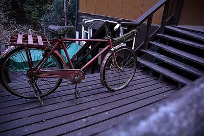 Old Bicycle Japan Tokyo Original